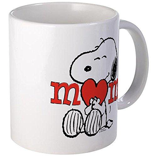 CafePress - Snoopy Mom Hug Mugs - Unique Coffee Mug Coffee Cup