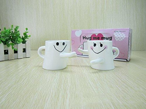 Mothers Day Novelty Couple Love Hug Mugs Tea Coffee Milk Cup Gift Wedding Lover Hug Gift