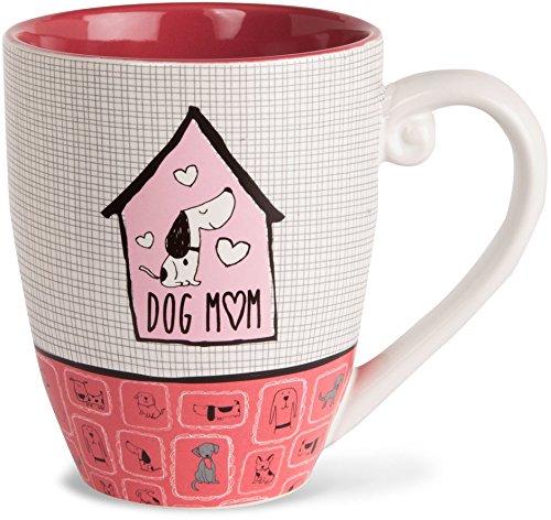 Its Cats Dogs Dog Mom Ceramic Extra Large Coffee Mug Tea Cup 20 oz Pink