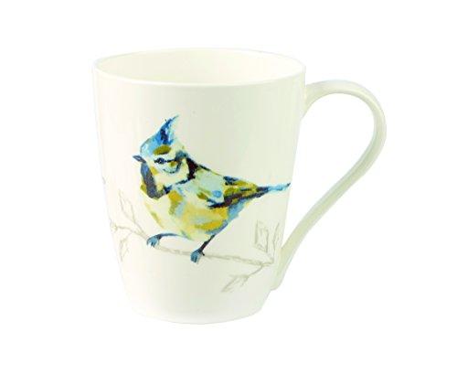 Churchill China Harlequin Persico Turquoise Fine Bone China Gift Coffee Tea Mug With Gift Box
