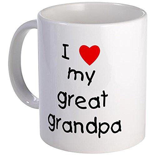 CafePress - I Love My Great Grandpa Mug - Unique Coffee Mug Coffee Cup