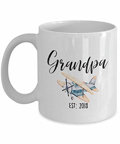 Grandpa EST 2018 Grandpa Mug Grandpa Gift Pregnancy Reveal Gift For Grandpa Grandpa Coffee Mug Baby Announcement Grandpa Coffee Mug Grandfather Mug