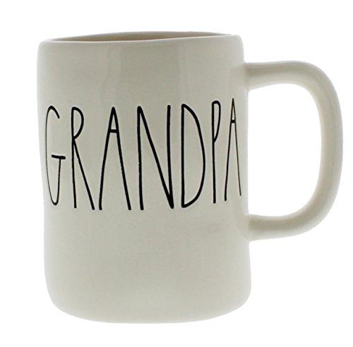 Rae Dunn Magenta Ceramic Coffee Mug Grandpa