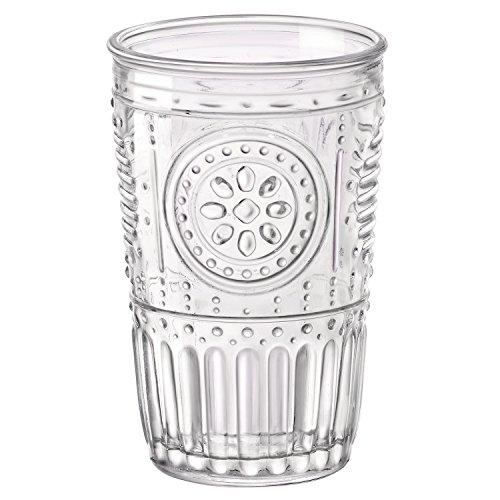 Bormioli Rocco Romantic Water Glass 1025 oz Set of 4