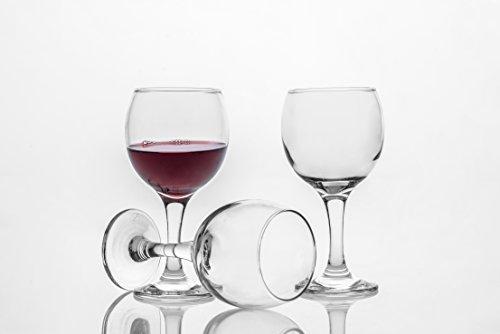 Tumbler  Water Glasses Set of 6 9 34 oz Shatter Resistant Stemware Elegant Glassware Clear