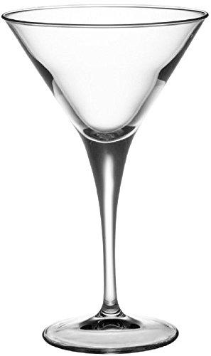 Bormioli Rocco Party Martini Glasses Set of 8