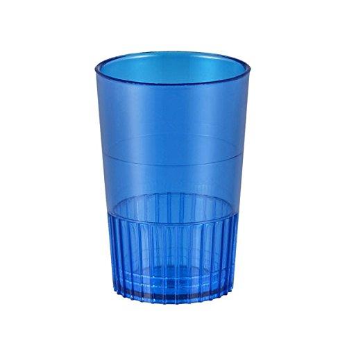 Blue 1 12 Oz Neon Lights Plastic Shot Glasses - Case of 500