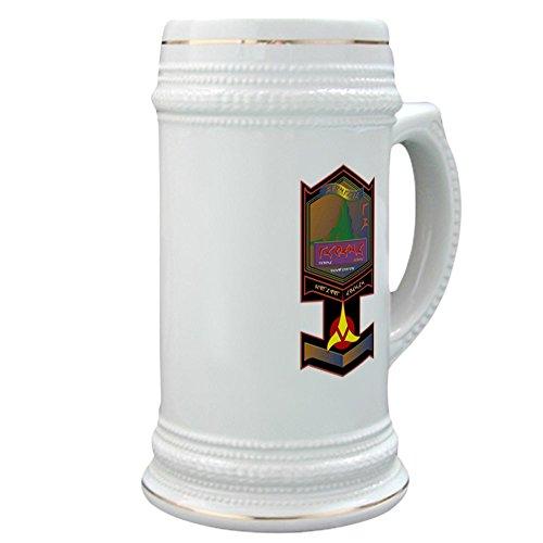 CafePress - Klingon Bloodwine - Beer Stein 22 oz Ceramic Beer Mug with Gold Trim