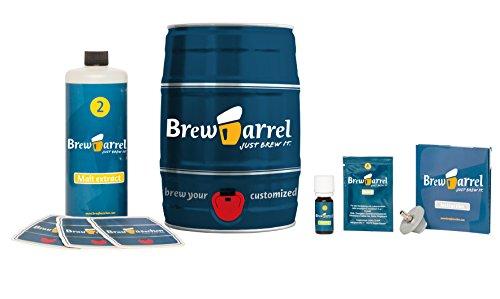 Brewbarrel Home Beer Brewing Starter Kit India Pale Ale
