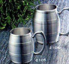 Engravable Pewter Barrel Beer Mug 12 oz