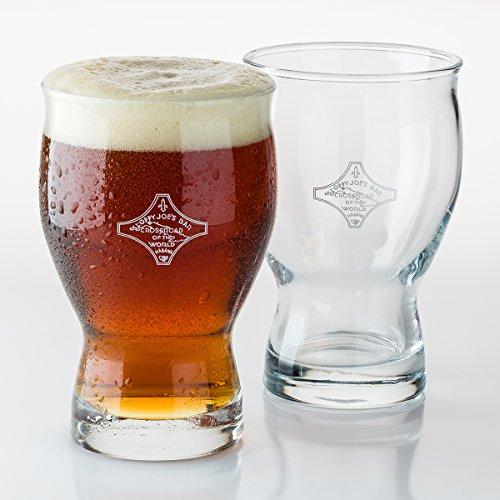 Sloppy Joes Bar of Havana Beer Glass Gift Box Set of 2