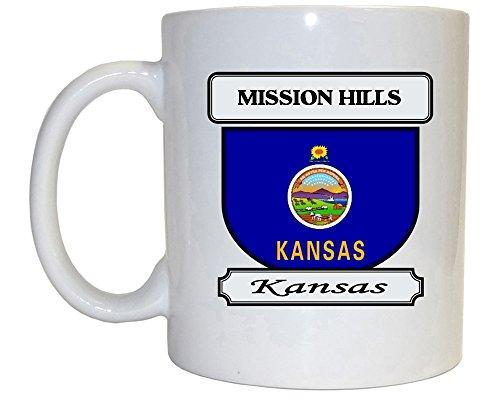 Mission Hills Kansas KS City Mug