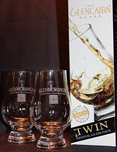 GLENMORANGIE TWIN PACK GLENCAIRN SCOTCH MALT WHISKY TASTING GLASSES
