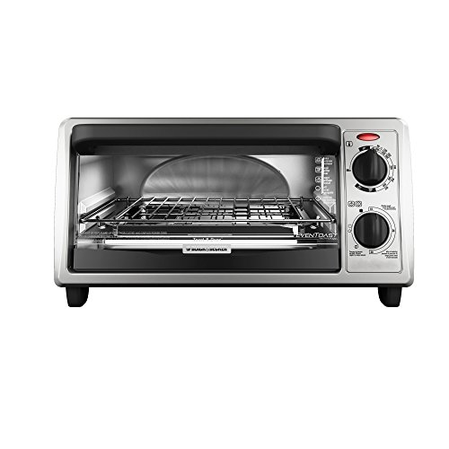 Black & Decker To1322sbd 4-slice Toaster Oven, Stainless Steel