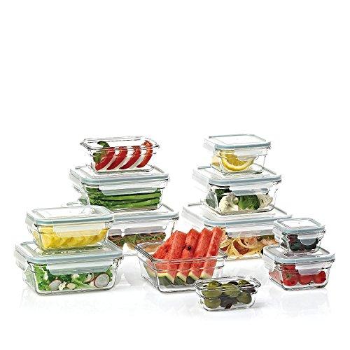 Members Mark 24-Piece Glass Food Storage Set by Glasslock