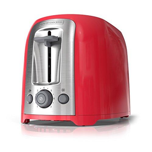 BLACKDECKER 2-Slice Toaster Red TR1278RM