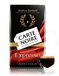 2 Packs Carte Noire Espresso Ground Coffee 88oz250g
