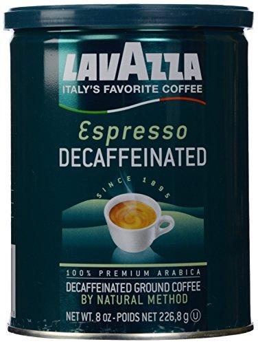 Lavazza Espresso Decaffeinated Ground Coffee 8 oz