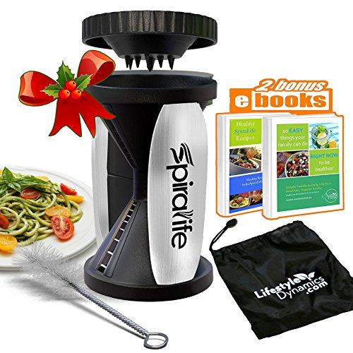 Original SpiraLife Spiralizer Vegetable Slicer – Vegetable Spiralizer - Spiral Slicer Cutter