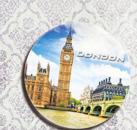 British tourist souvenir gifts Refrigerator bottle opener Big Ben in London