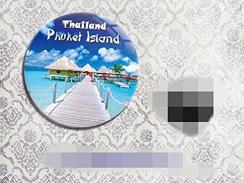 Thailands tourism souvenir gifts Refrigerator bottle opener Crystal film island of phuket