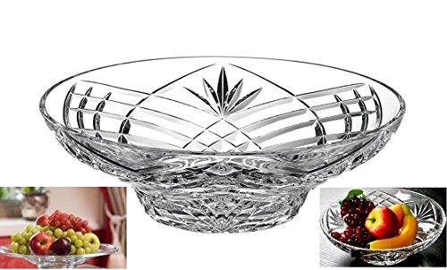 Elegant Crystal Sparkling Design Serving Centerpiece For HomeOfficeWedding Decor Fruit Snack Dessert Server