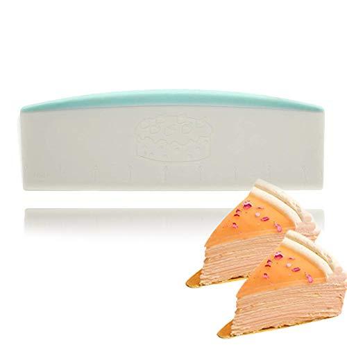 QELEG Extra ABS Plastic Commercial Dough CutterBench Scraper 35 x 85-inch