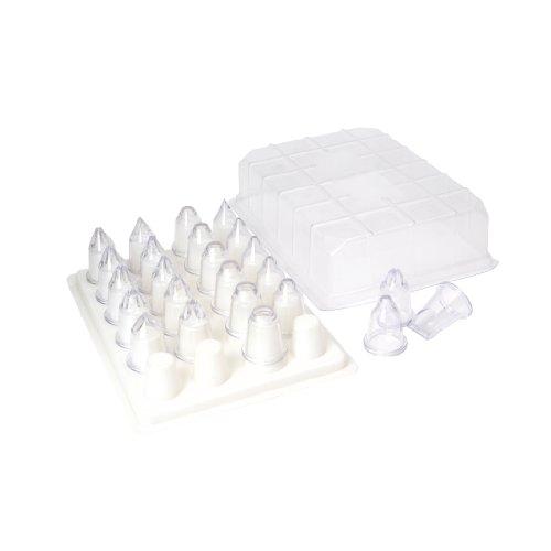 Swift 24 Piece Plastic Icing Nozzle Set