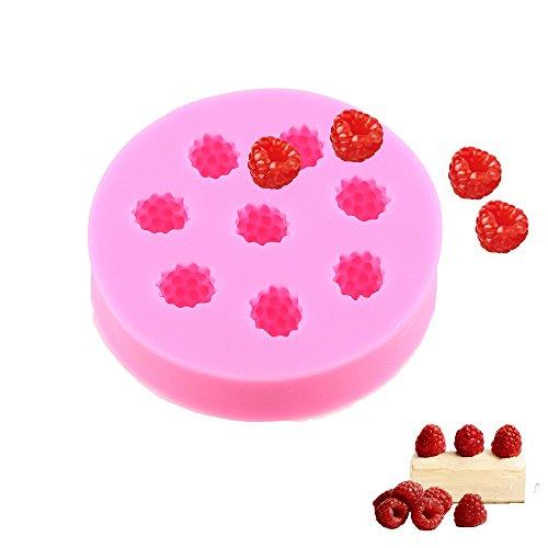 Raspberry Fondant Cake Mold WCIC Silicone Fruit Cup Cake Sugarcraft Decor Baking Mould Random Color