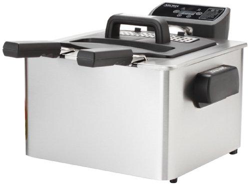 Aroma Smart Fry Xl Adf-232 4-quart Digital Deep Fryer