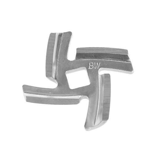 AISme 1Pc Meat Grinder Spare Blade 50mm Diameter Stainless Steel Part For Moulinex HV6
