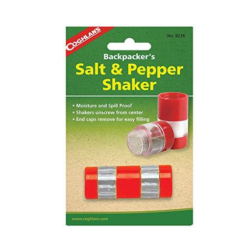 Coghlans Backpackers Salt and Pepper Shaker