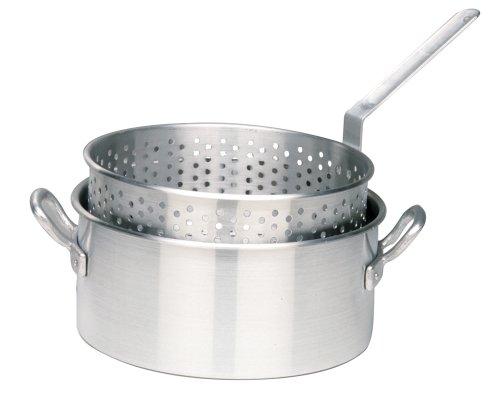 Bayou Classic 1201 10-qt. Aluminum Fry Pot With Basket - No Lid