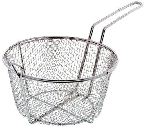 """Update International (fb-9) 9 1/2"""" Round Wire Fry Basket"""