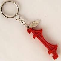 San Francisco Golden Gate Bridge 3D Key Chain With Tag 59382