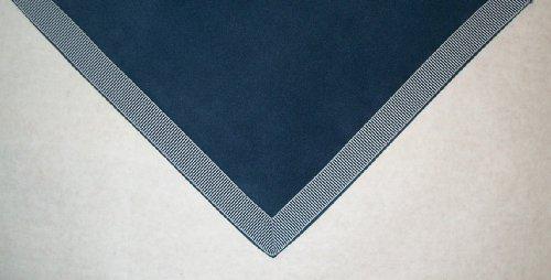 Sanders Classics 44 Square Navy Card Bridge Table Cover