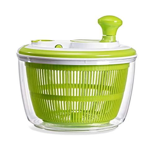 Fit Fresh Salad Spinner Wash and Dry Lettuce Vegetables Fruit