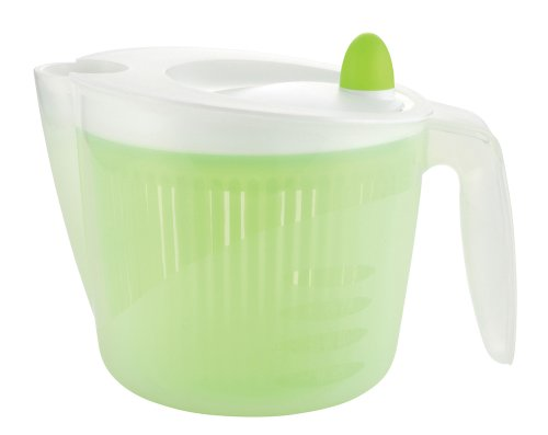 Parukinzoku Just Right Salad Spinner with Handle - 2Quarts
