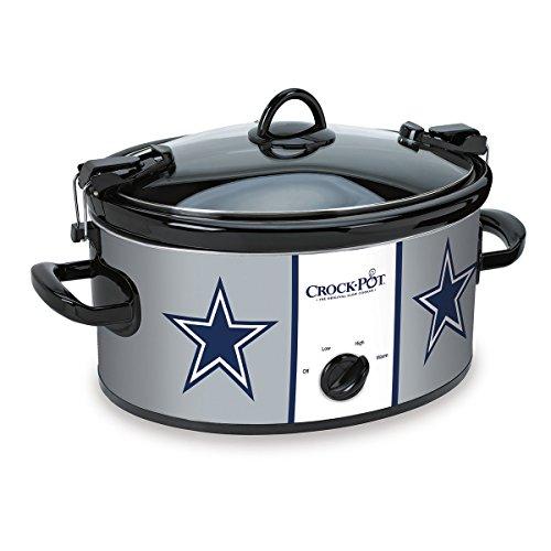 Crock-pot Dallas Cowboys Nfl Cook & Carry Slow Cooker