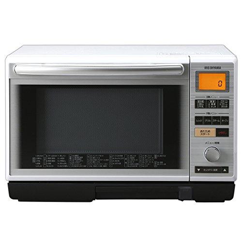 IRIS OHYAMA Super heated Steam Oven Range 24L MS-2402 White 【Japan Domestic genuine products】