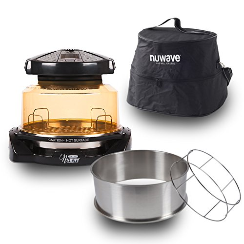 NuWave 20528 Elite Infrared Oven Turkey Kit Carrying Case Black