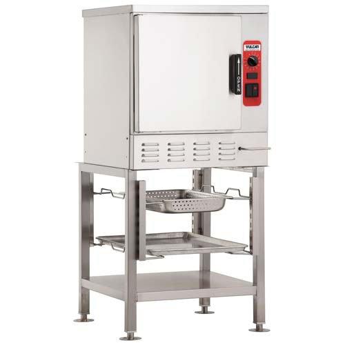 Vulcan C24EA5DLXCV053A Vulcan C24EA5 - Electric Countertop Convection Steamer Holds 5 pans Standard