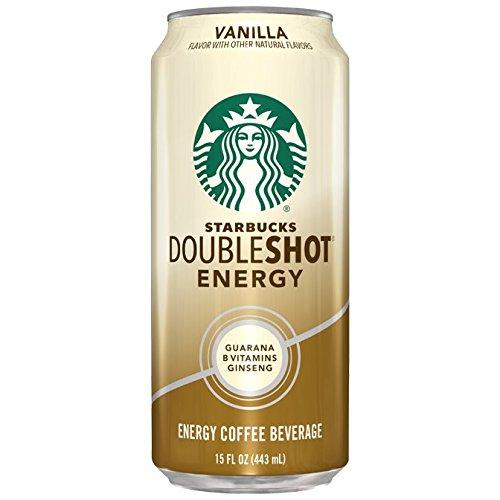 Starbucks Doubleshot Energy Coffee Vanilla 15 Ounce 12 Count