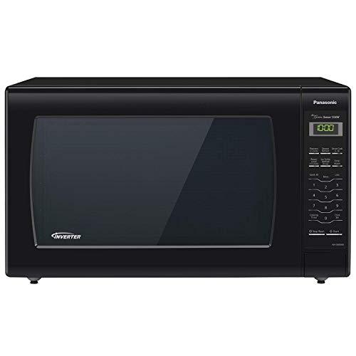 Panasonic Microwave Oven NN-SN936B Black Countertop with Inverter Technology and Genius Sensor 22 Cu Ft 1250W Renewed