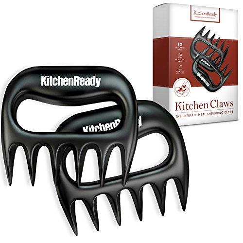 KitchenReady Meat Claws Perfect Shredder for Pulled Pork Beef Brisket Chicken Turkey