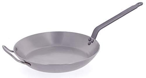 DeBuyer Carbon Steel Frying Pan 12-12 Diameter