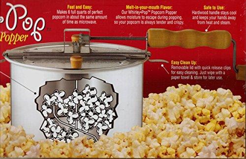 The Original Whirley-Pop 3-Minute Popcorn Popper