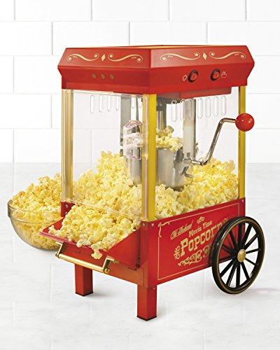 Nostalgia KPM508 Vintage 25-Ounce Kettle Popcorn Maker