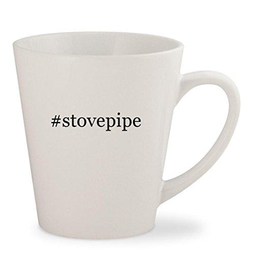 stovepipe - White Hashtag 12oz Ceramic Latte Mug Cup