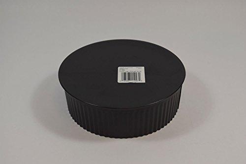 Gray Metal 6603SE 6 Black Wood Stove Pipe Cleanout Cap
